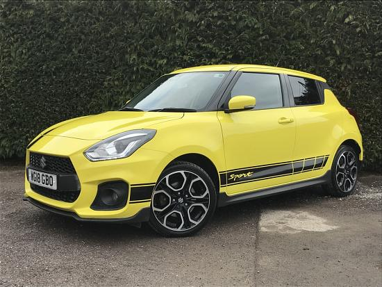 2018 Suzuki Swift Sport 1.4 Boosterjet 5dr