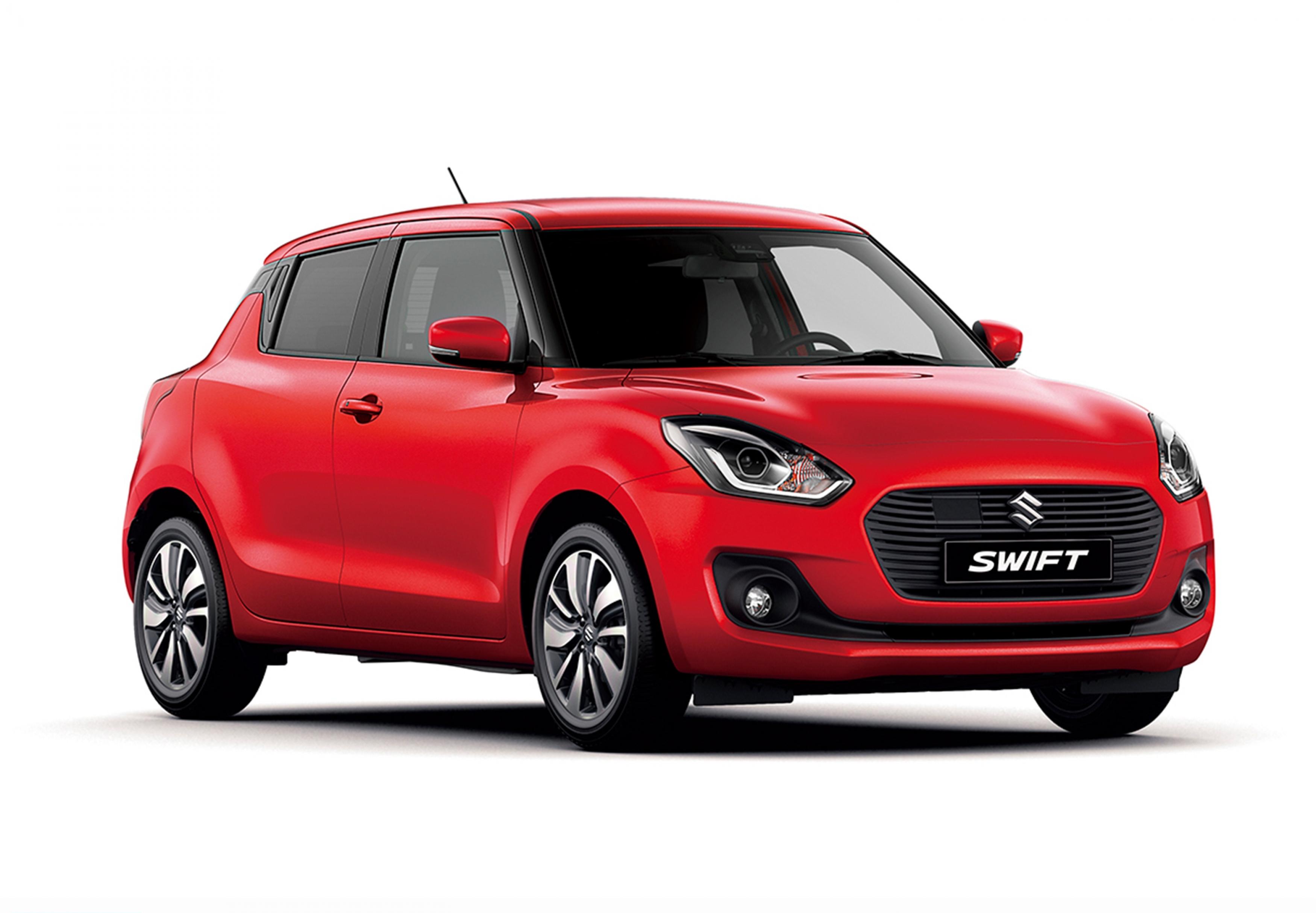 the new third generation suzuki swift   unveiled at the
